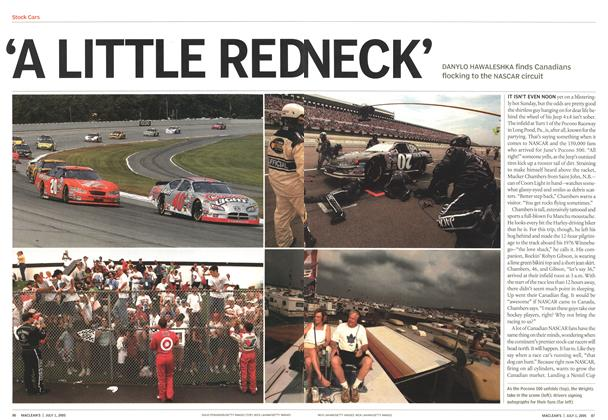Article Preview: 'A LITTLE REDNECK', July 4th 2005 | Maclean's