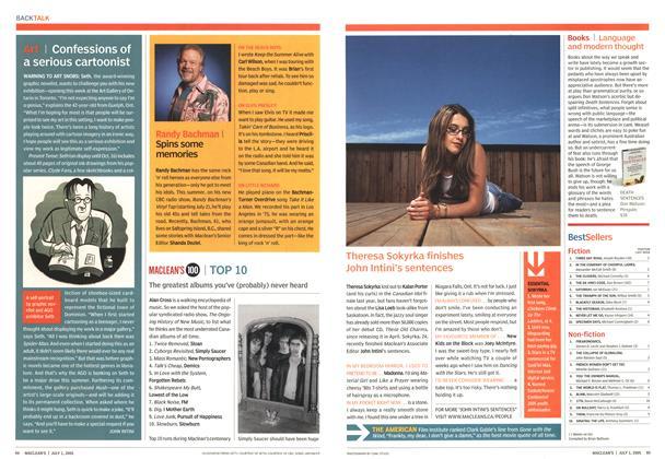 Article Preview: Bestsellers, July 2005 | Maclean's