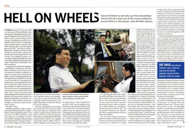 Article Preview: HELL ON WHEELS, July 18th 2005 | Maclean's