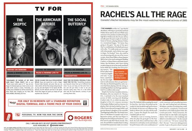 Article Preview: RACHEL'S ALL THE RAGE, July 18th 2005 | Maclean's
