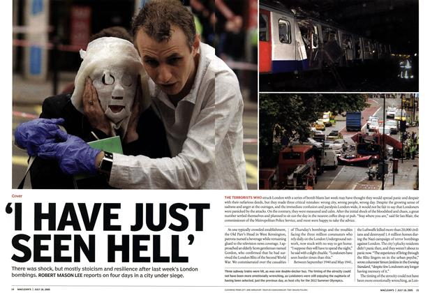 Article Preview: 'I HAVE JUST SEEN HELL', July 2005 | Maclean's