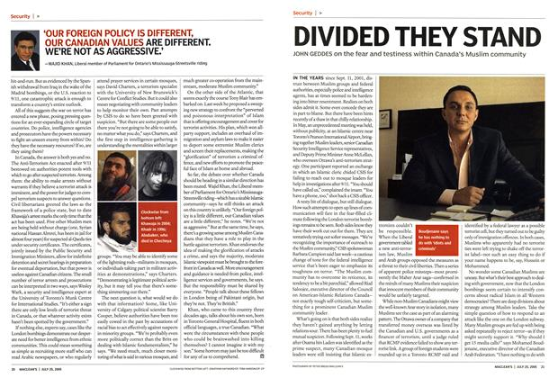 Article Preview: DIVIDED THEY STAND, July 25th 2005 | Maclean's
