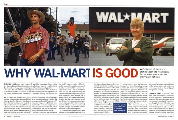 Article Preview: WHY WAL-MART IS GOOD, July 25th 2005 | Maclean's