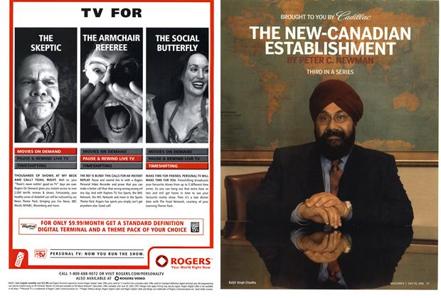 Article Preview: THE NEW-CANADIAN ESTABLISHMENT, July 25th 2005 | Maclean's