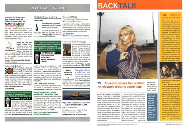 Article Preview: BACK TALK, July 25th 2005 | Maclean's