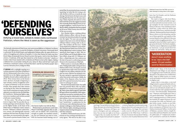 Article Preview: 'DEFENDING OURSELVES', August 2005 | Maclean's