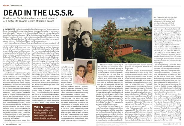 Article Preview: DEAD IN THE U.S.S.R., August 1st 2005 | Maclean's