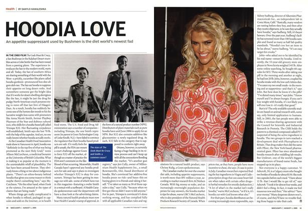 Article Preview: HOODIA LOVE, August 1st 2005 | Maclean's