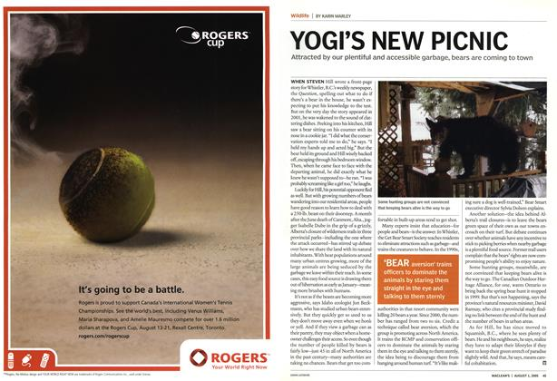 Article Preview: YOGI'S NEW PICNIC, August 1st 2005 | Maclean's