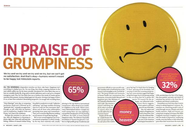Article Preview: IN PRAISE OF GRUMPINESS, August 2005 | Maclean's