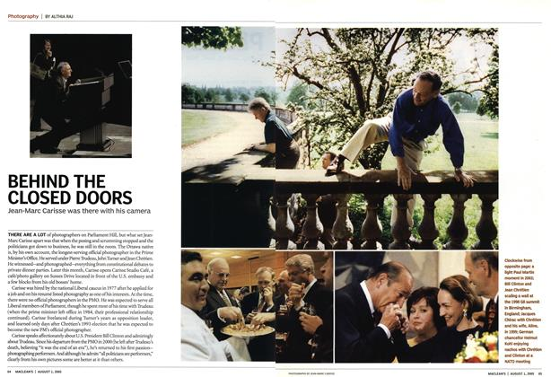 Article Preview: BEHIND THE CLOSED DOORS, August 1st 2005 | Maclean's