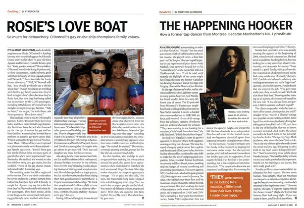 Article Preview: THE HAPPENING HOOKER, August 1st 2005 | Maclean's