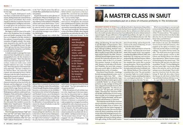 Article Preview: A MASTER CLASS IN SMUT, August 1st 2005 | Maclean's