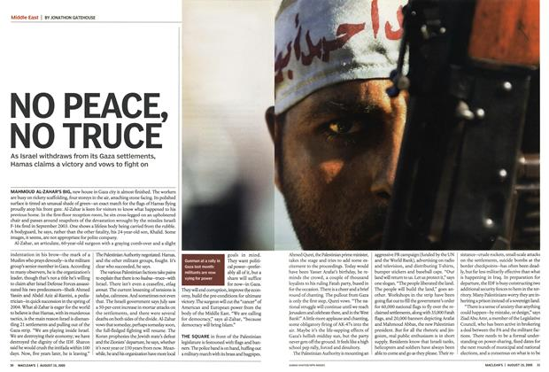 Article Preview: NO PEACE, NO TRUCE, August 15th 2005 | Maclean's