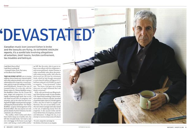 Article Preview: 'DEVASTATED', August 22nd 2005 | Maclean's