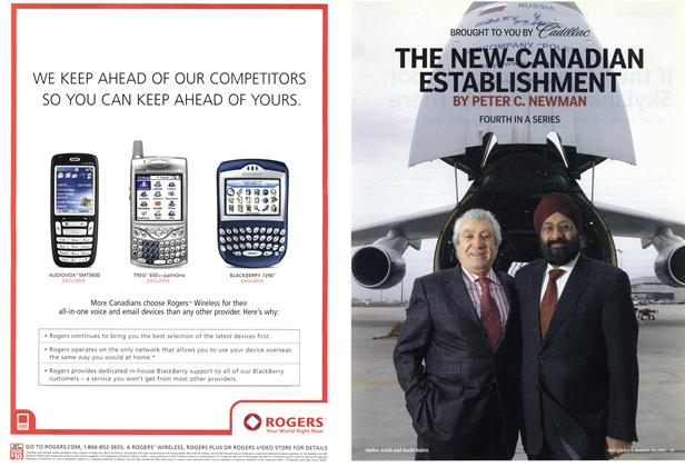 Article Preview: THE NEW-CANADIAN ESTABLISHMENT, August 29th 2005   Maclean's