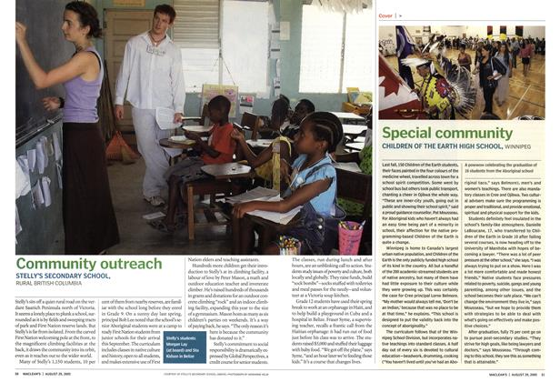 Article Preview: Special community, August 29th 2005 | Maclean's