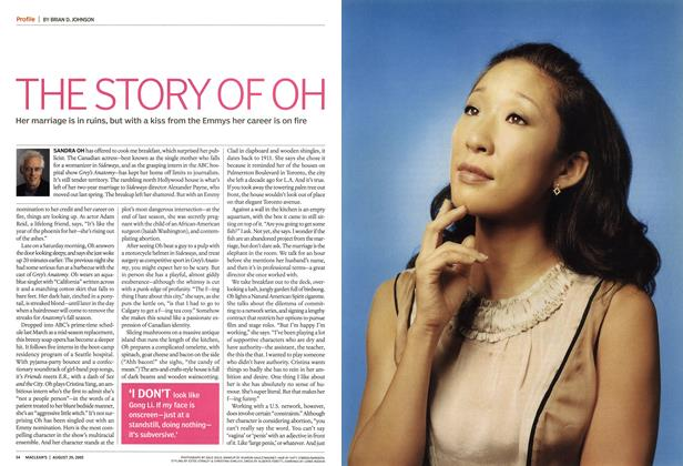 Article Preview: THE STORY OF OH, August 2005 | Maclean's