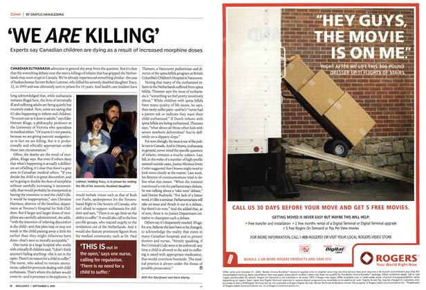 Article Preview: 'WE ARE KILLING', September 5th 2005 | Maclean's