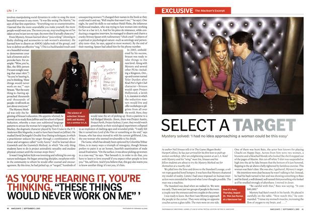 Article Preview: SELECT A TARGET, September 5th 2005 | Maclean's