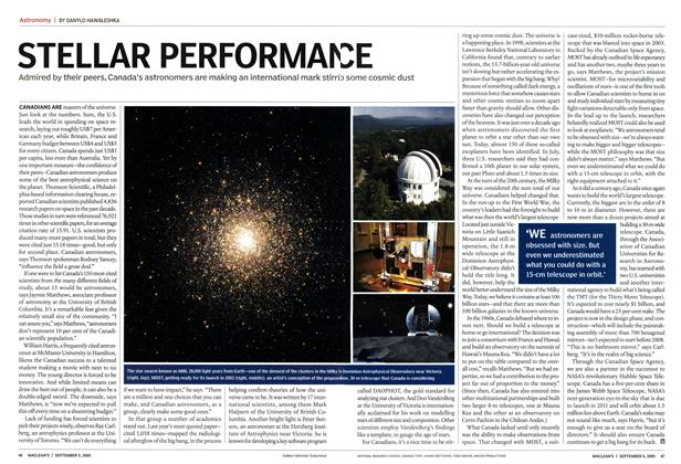 Article Preview: STELLAR PERFORMANCE, September 5th 2005 | Maclean's