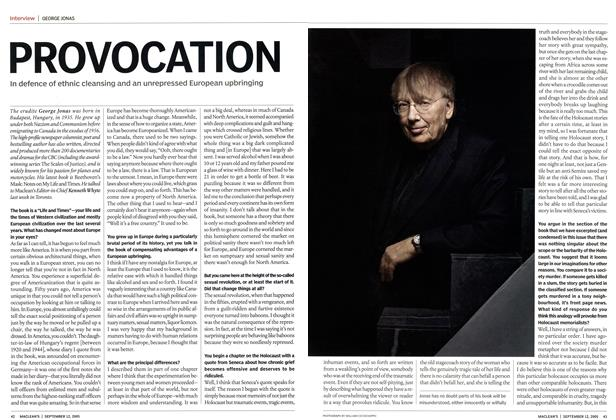 Article Preview: PROVOCATION, September 12th 2005 | Maclean's