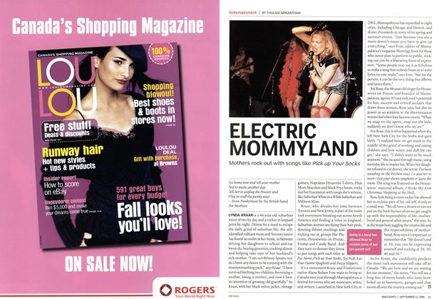 Article Preview: ELECTRIC MOMMYLAND, September 12th 2005 | Maclean's