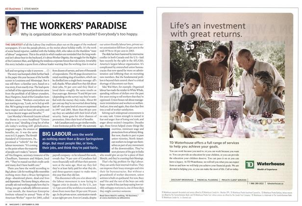 Article Preview: THE WORKERS' PARADISE, September 19th 2005 | Maclean's