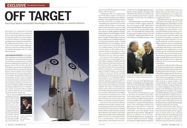 Article Preview: OFF TARGET, September 26th 2005 | Maclean's