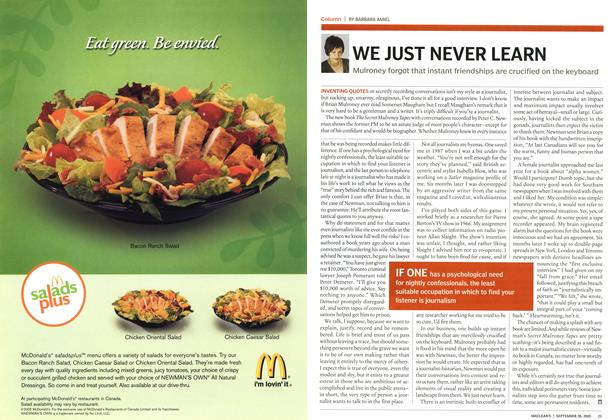 Article Preview: WE JUST NEVER LEARN, September 26th 2005 | Maclean's