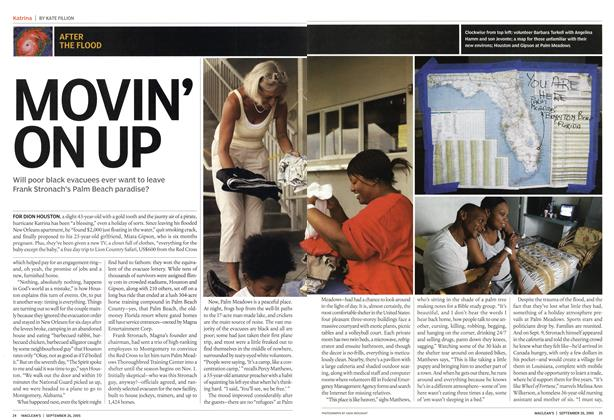 Article Preview: MOVIN' ON UP, September 26th 2005 | Maclean's