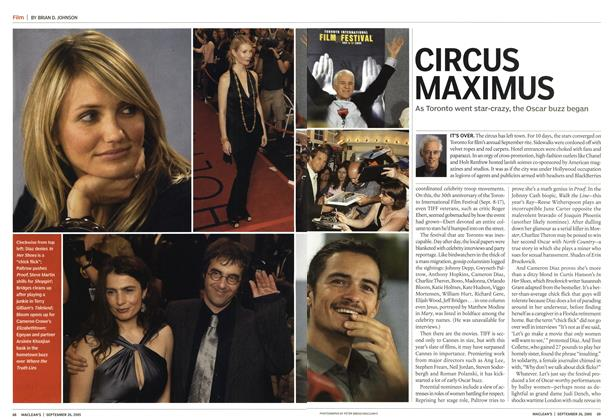Article Preview: CIRCUS MAXIMUS, September 26th 2005 | Maclean's