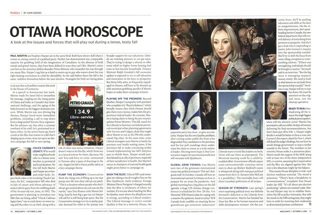 Article Preview: OTTAWA HOROSCOPE, October 2005 | Maclean's