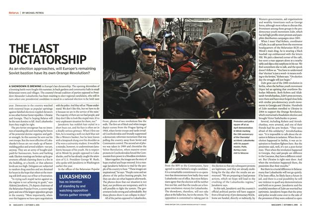Article Preview: The Last Dictatorship, October 3rd 2005 | Maclean's