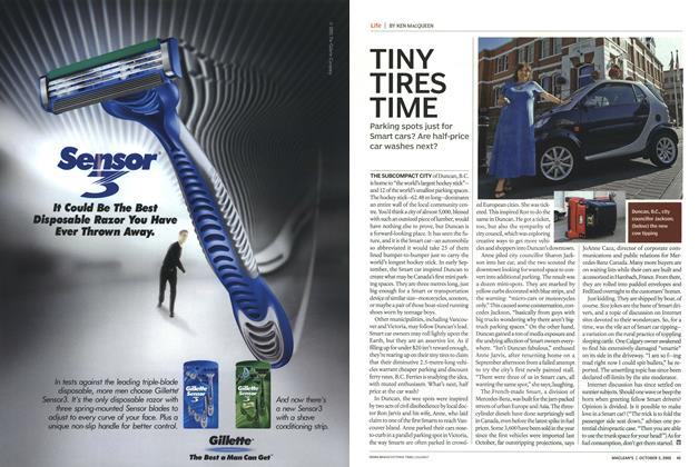 Article Preview: TINY TIRES TIME, October 3rd 2005 | Maclean's