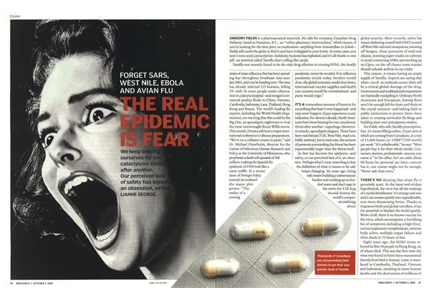 Article Preview: THE REAL EPIDEMIC IS FEAR, October 3rd 2005 | Maclean's
