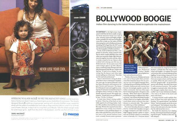 Article Preview: BOLLYWOOD BOOGIE, October 3rd 2005   Maclean's