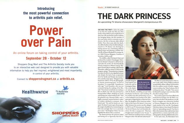Article Preview: THE DARK PRINCESS, October 3rd 2005 | Maclean's
