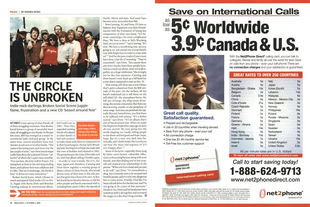 Article Preview: THE CIRCLE IS UNBROKEN, October 3rd 2005 | Maclean's