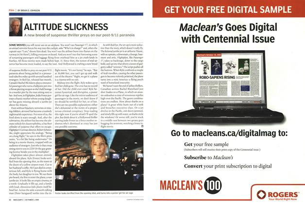Article Preview: ALTITUDE SLICKNESS, October 3rd 2005 | Maclean's