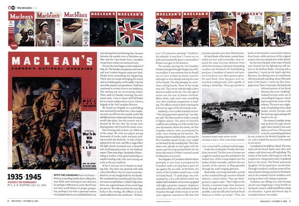 Article Preview: 1935-1945, October 10th 2005 | Maclean's