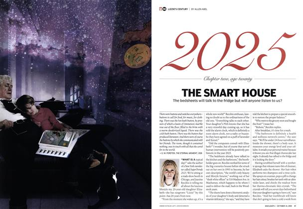 Article Preview: THE SMART HOUSE, October 10th 2005 | Maclean's