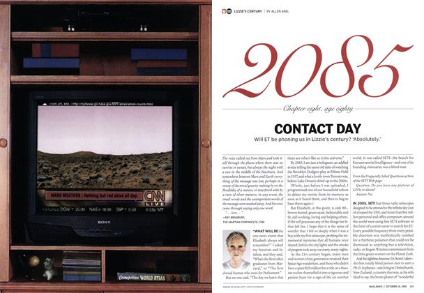 Article Preview: CONTACT DAY, October 2005 | Maclean's