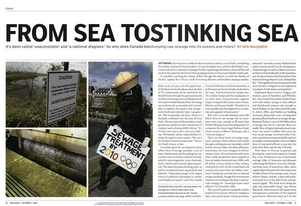 Article Preview: FROM SEA TO STINKING SEA, October 17th 2005 | Maclean's