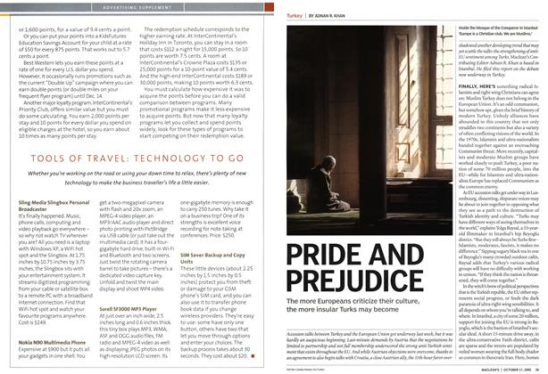 Article Preview: PRIDE AND PREJUDICE, October 17th 2005 | Maclean's