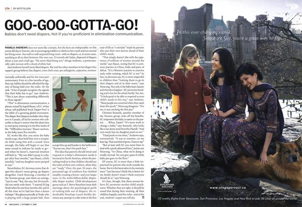 Article Preview: GOO-GOO-GOTTA-GO!, October 17th 2005 | Maclean's