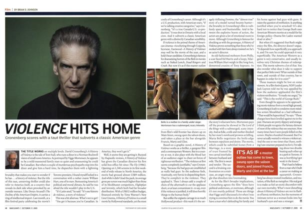 Article Preview: VIOLENCE HITS HOME, October 17th 2005 | Maclean's
