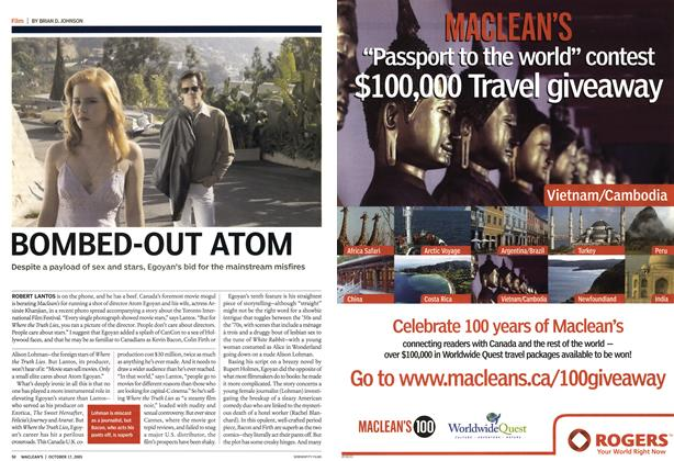 Article Preview: BOMBED-OUT ATOM, October 2005 | Maclean's