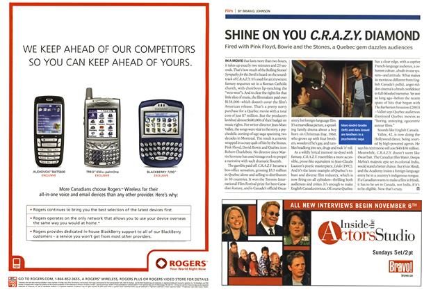 Article Preview: SHINE ON YOU C.R.A.Z.Y. DIAMOND, October 24th 2005 | Maclean's