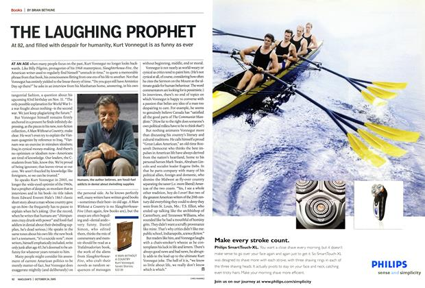 Article Preview: THE LAUGHING PROPHET, October 24th 2005 | Maclean's